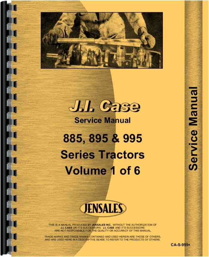 case ih 895 tractor service manual rh agkits com Case IH 895 Tractor Specs International Harvester 1066 Tractor