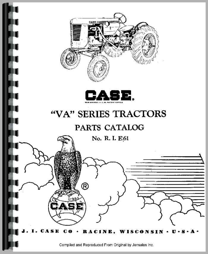 Case Vac Parts : Case vac tractor parts manual
