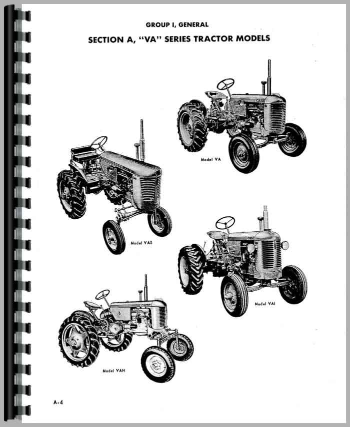 Case Vac Parts : Case vac tractor service manual