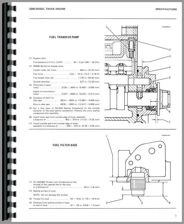 caterpillar 3208 engine service manual rh agkits com Used 3208 Cat Engine 3208 Cat Engine Oil Cooler