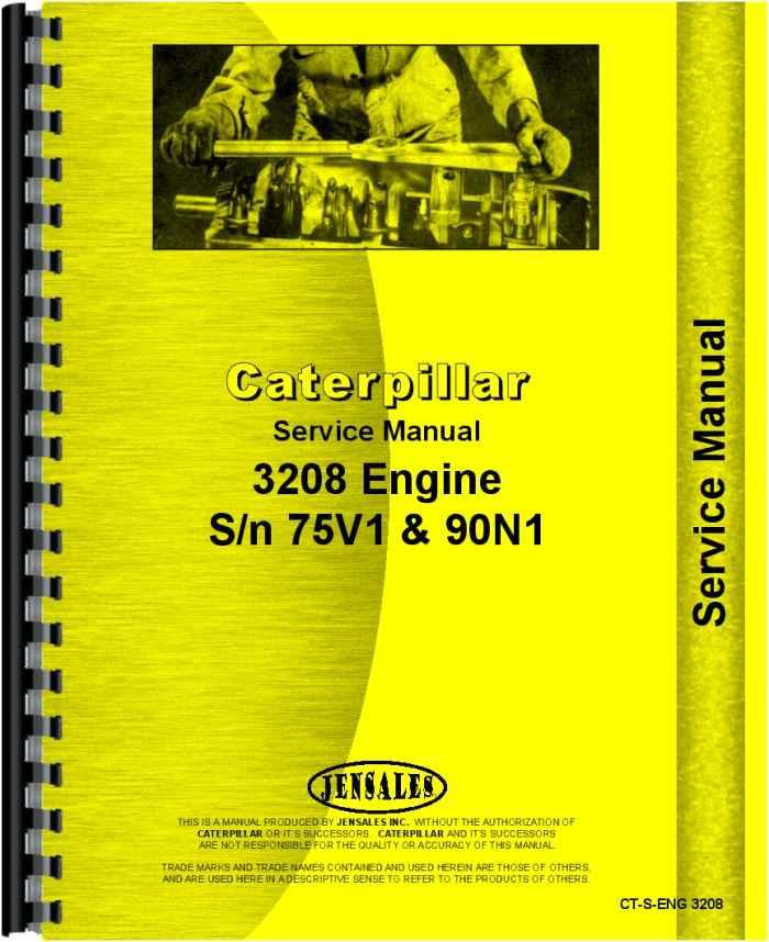 caterpillar 3208 engine service manual rh agkits com cat 3208 workshop manual cat 3208 repair manual