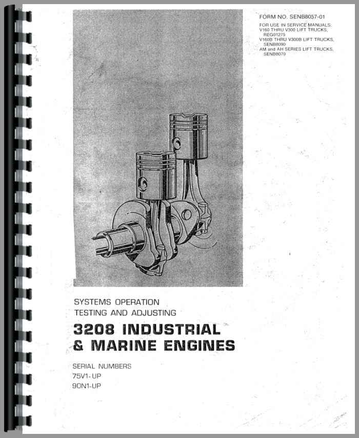 caterpillar 3208 engine service manual rh agkits com 3208 Cat Engine Problems Used 3208 Cat Engine
