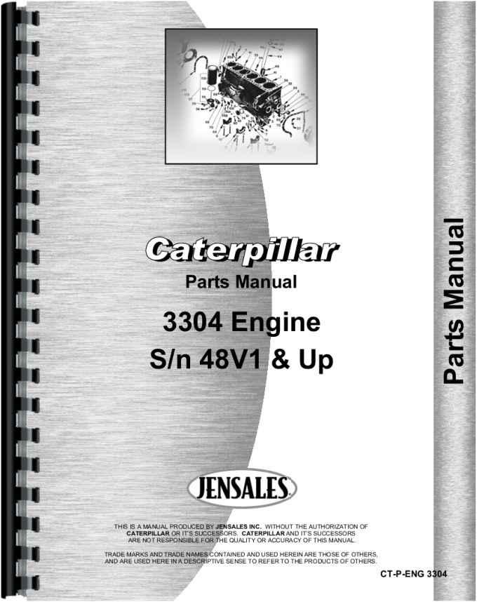 caterpillar 3304 engine parts manual rh agkits com cat parts manuals online cat parts manual download