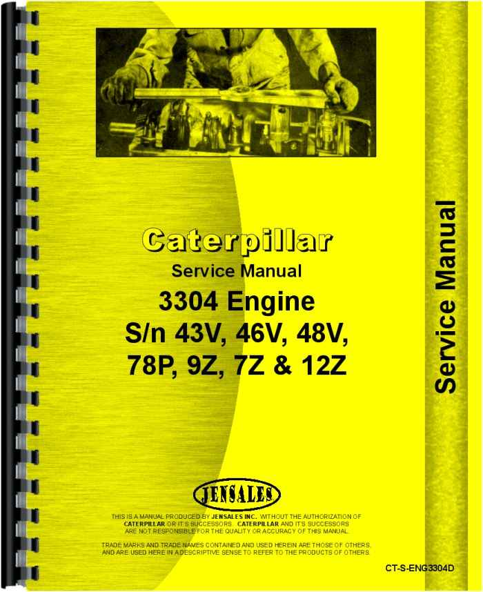 caterpillar 3304 engine service manual rh agkits com caterpillar 3304 engine service manual Cat 3306 Air Intake