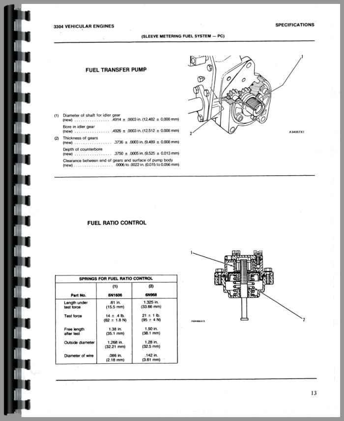 Caterpillar 3304 Engine Service Manual