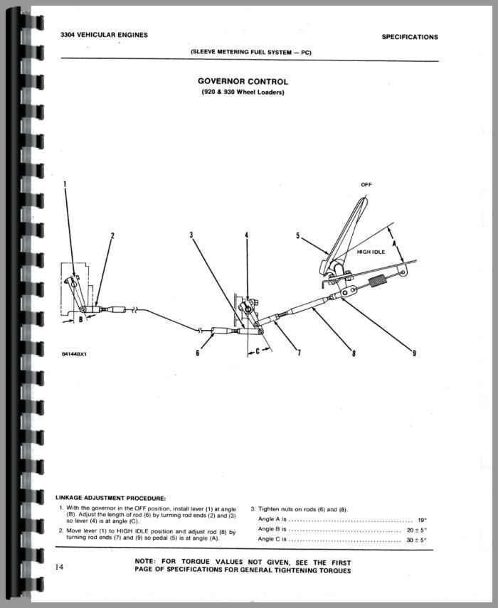 Cat 3304 Valve Adjustment Procedure