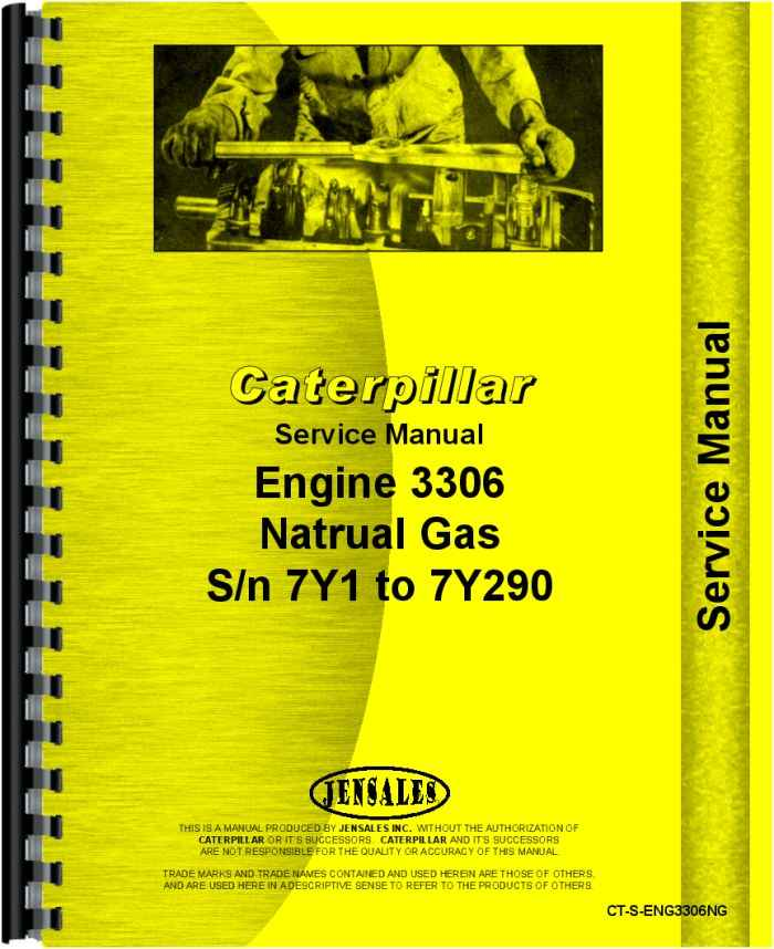 caterpillar 3306 engine service manual rh agkits com manual del motor caterpillar 3306 manual tecnico motor caterpillar 3306