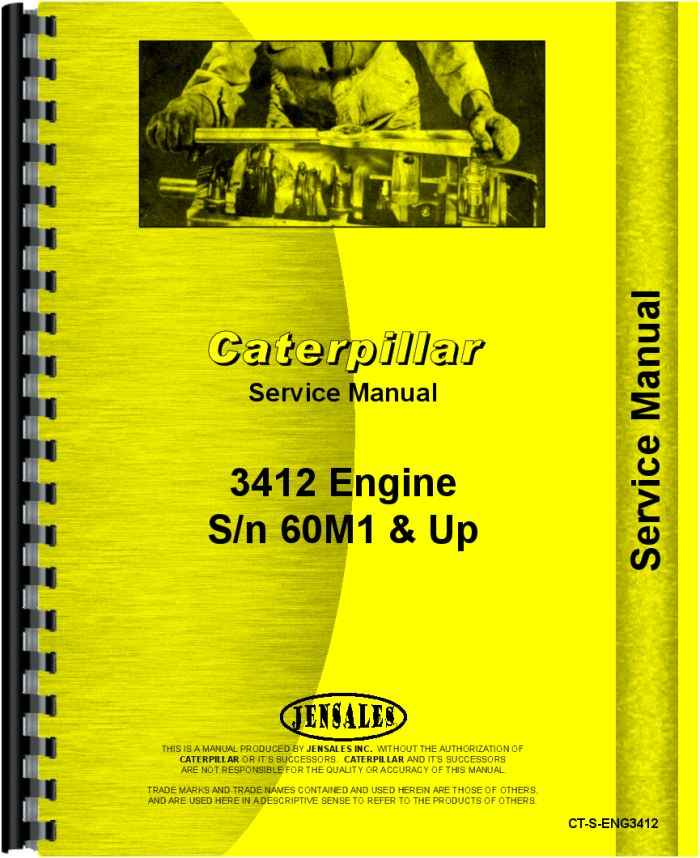 caterpillar 3412 engine service manual rh agkits com Caterpillar 3412 Gas Engine Starter Schematic Caterpillar 3208 Engine Timing Specifications