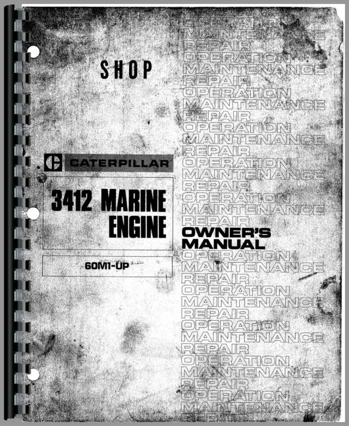 caterpillar 3412 engine service manual rh agkits com Cat 3412 Diesel Cat 3412 Marine