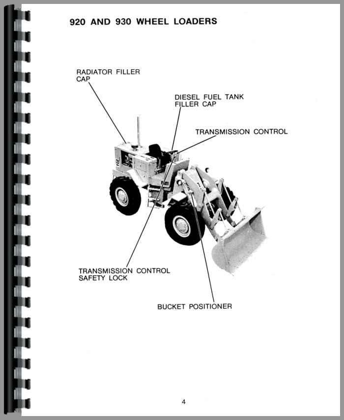 caterpillar 930 wheel loader operators manual rh agkits com Cat IT28G Cat 226B