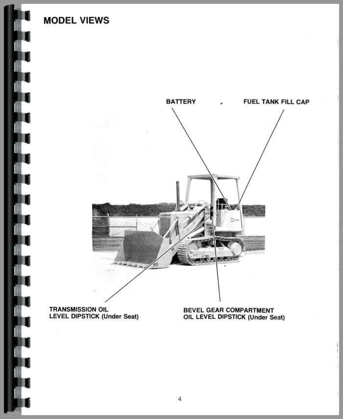 Caterpillar 931B Traxcavator Operators Manual