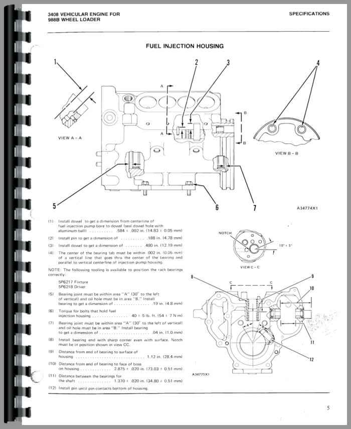 volvo l 45 loader wiring diagram caterpillar 988b wheel loader service manual #6