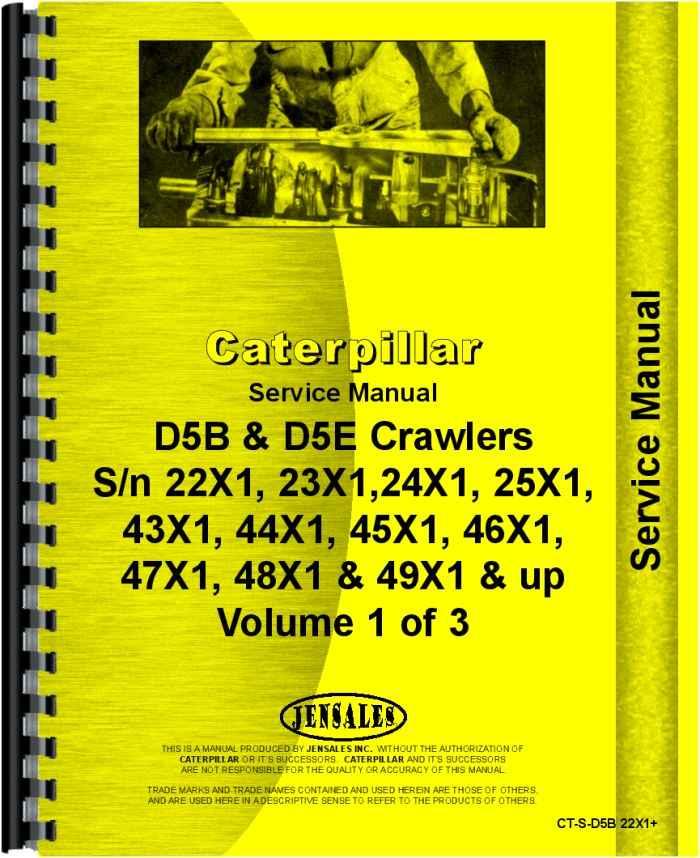 caterpillar d5b crawler service manual rh agkits com Cat D6 Dozer Cat D6 Dozer