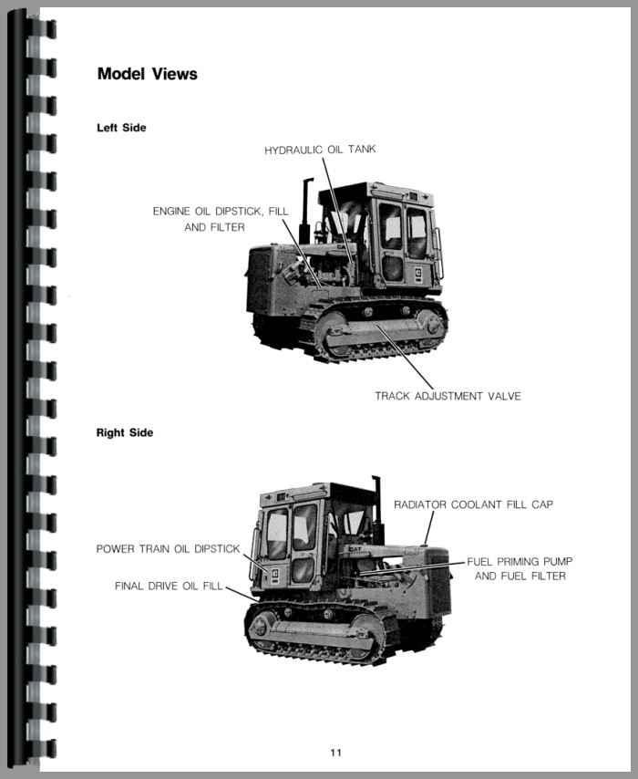 Caterpillar D5B Crawler Operators Manual