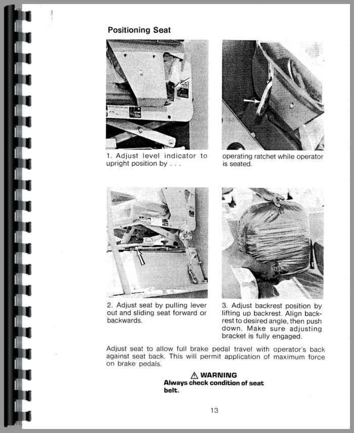 Caterpillar D6C Crawler Operators Manual (HTCT-OD598J)