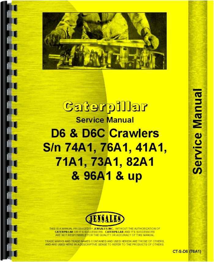 Caterpillar D6C Crawler Manual_85176_1__24732 caterpillar d6c crawler service manual Caterpillar D6C 10K at reclaimingppi.co
