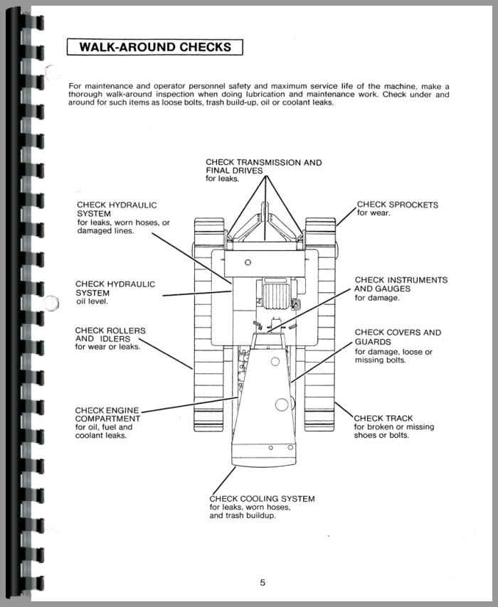 Caterpillar D8H Crawler Operators Manual
