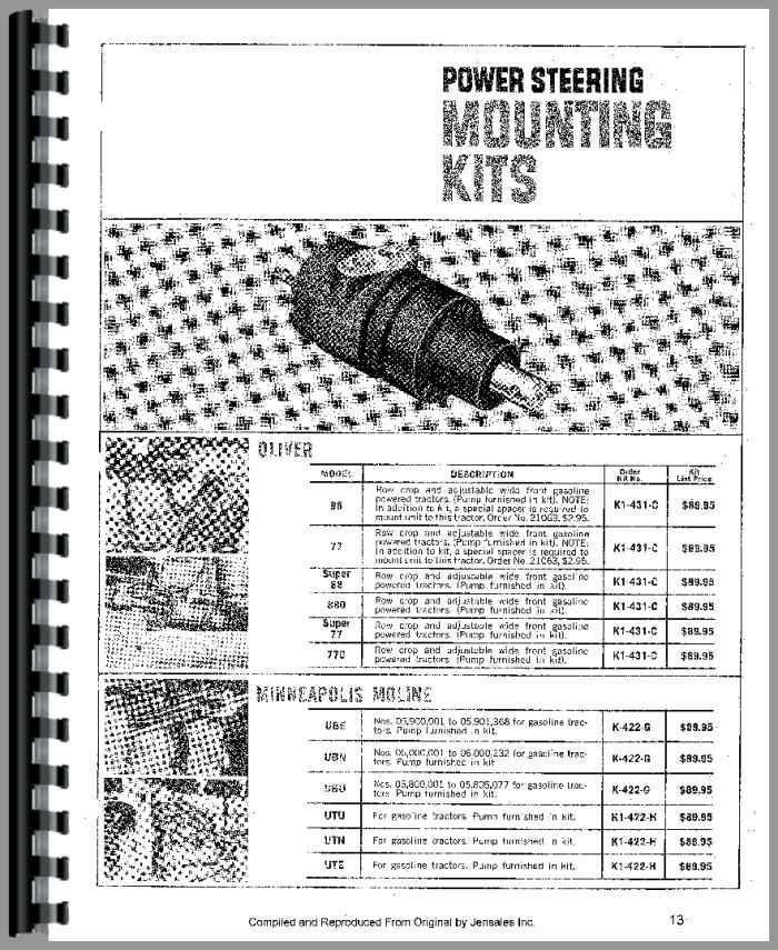 Char-Lynn All Power Steering Service Manual
