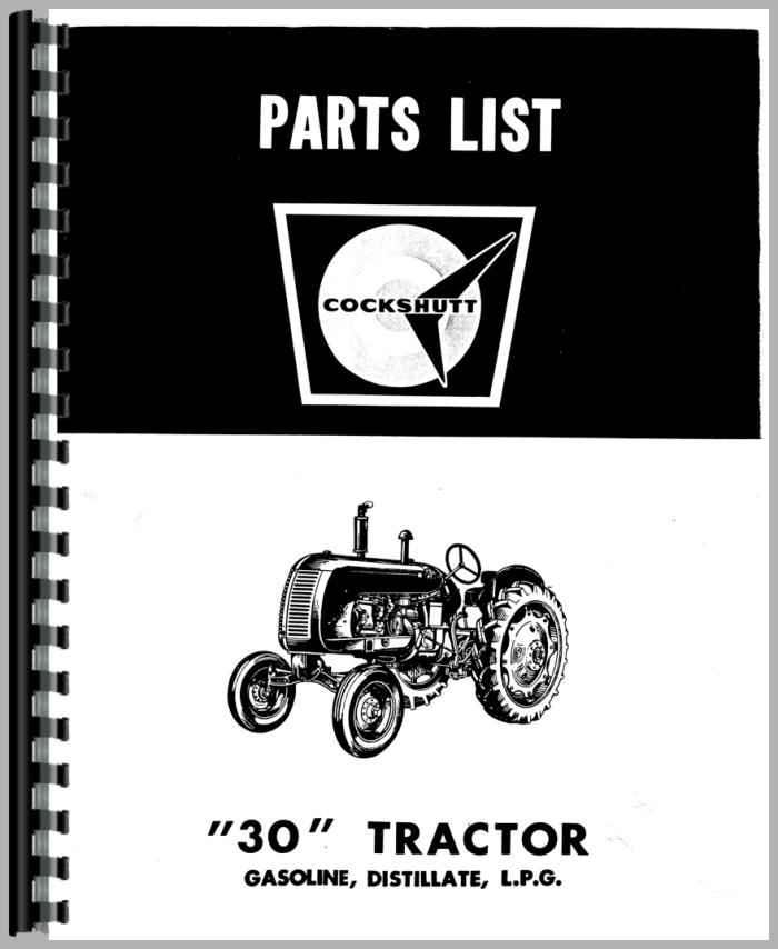 Cockshutt Tractor Parts : Cockshutt tractor parts manual