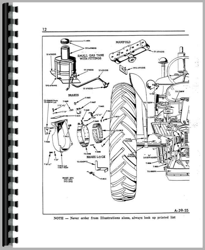 Cockshutt 30 Tractor Parts Manual
