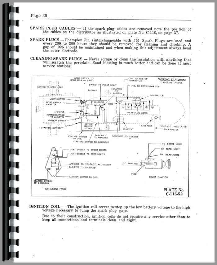 cockshutt 40 tractor operators manual  agkits