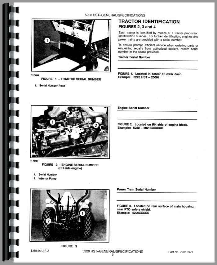 Deutz 5220 Tractor Service Manual