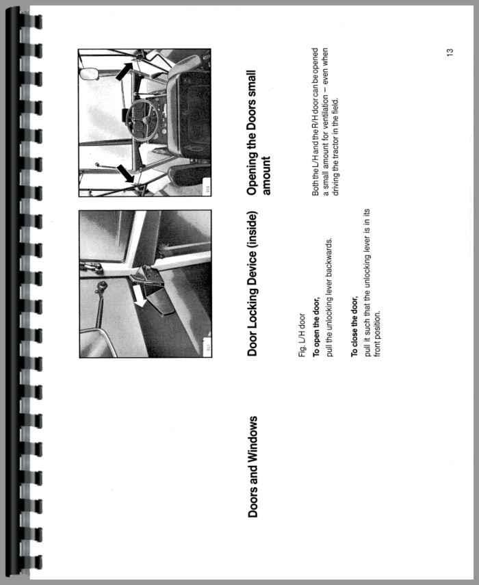 Deutz 7110 Tractor Operators Manual