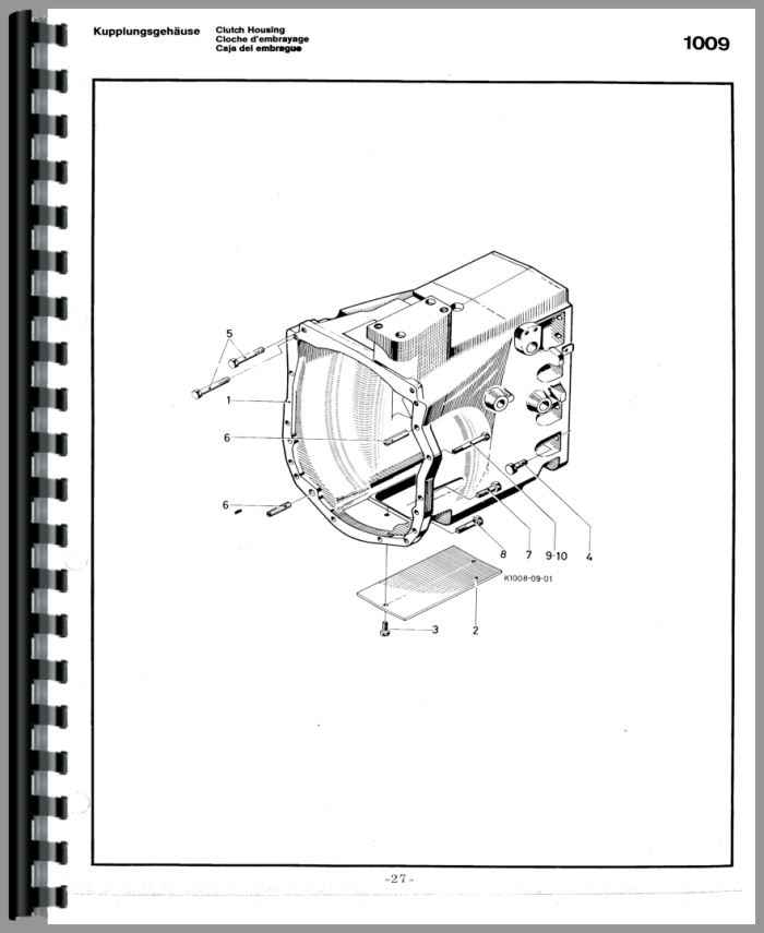 Deutz Parts Diagram - Wiring Diagrams List