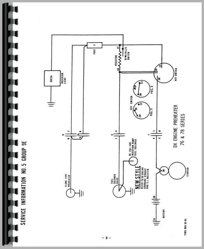 deutz dx120 tractor wiring diagram service manual rh agkits com Deutz Engine Parts Manual Deutz Repair Manual