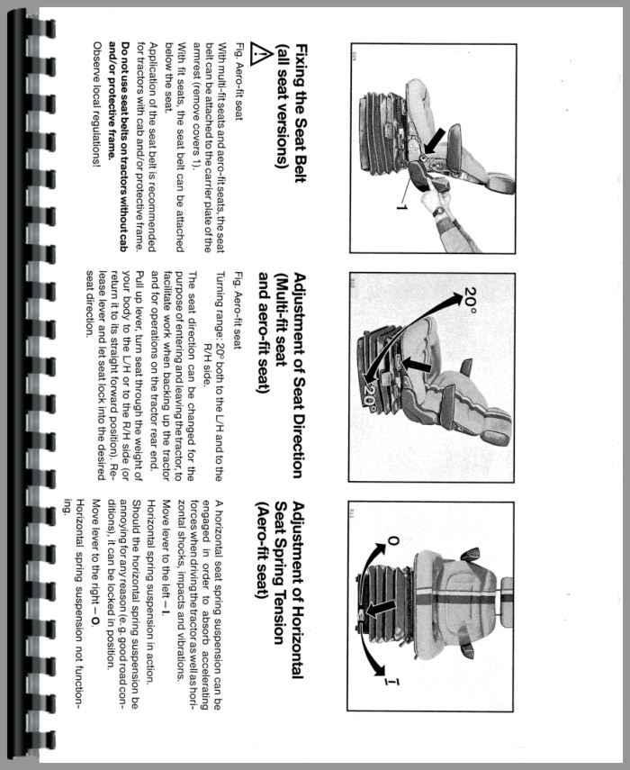 deutz dx4 30 tractor operators manual