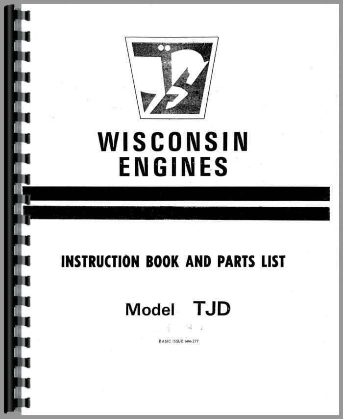 Ditch Witch 2200 Trencher Wisconsin Engine Service Manual