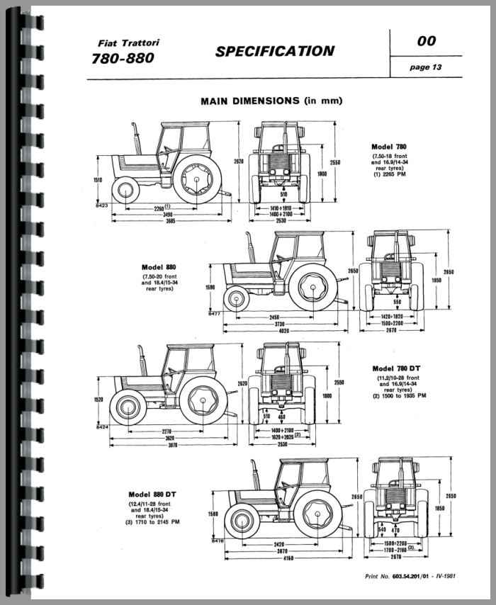 fiat 780dt tractor service manual rh agkits com fiat 640 tractor manual pdf fiat tractor manual pdf