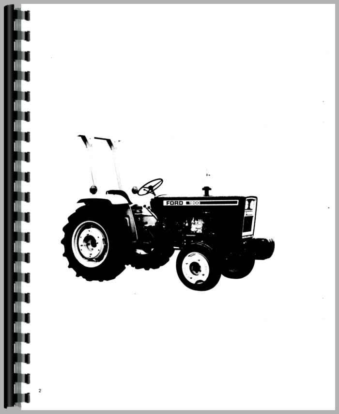 ford 1900 tractor operators manual rh agkits com ford 1900 tractor service manual ford 1900 tractor parts manual
