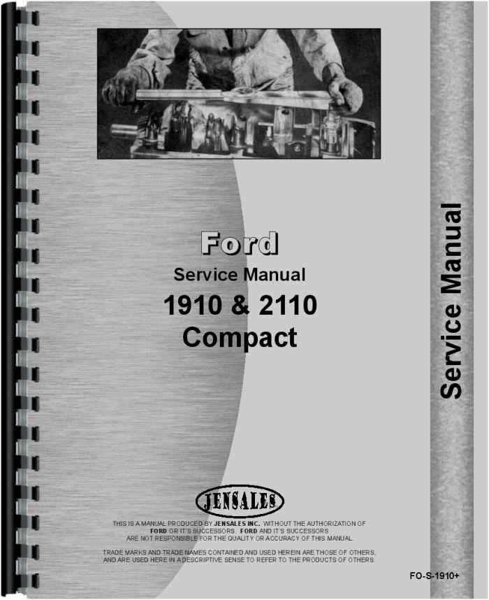 ford 1910 tractor service manual rh agkits com 1910 Ford Tractor Repair Manual 1910 Ford Tractor Repair Manual