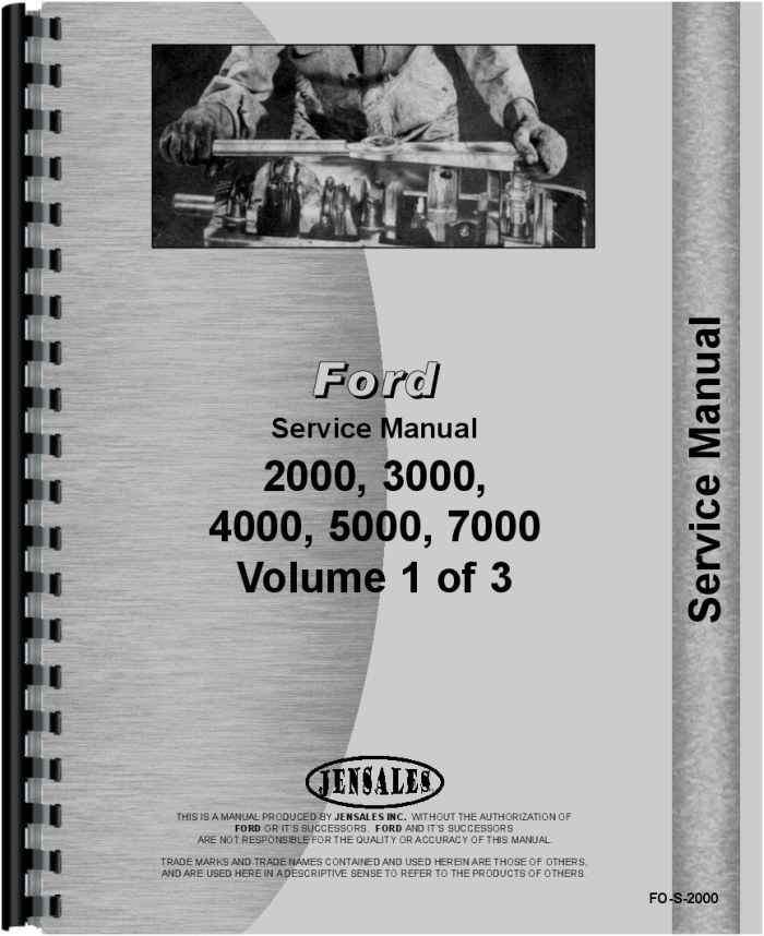 ford 2000 tractor service manual rh agkits com ford 2000 tractor manual steering ford 2000 tractor owners manual pdf