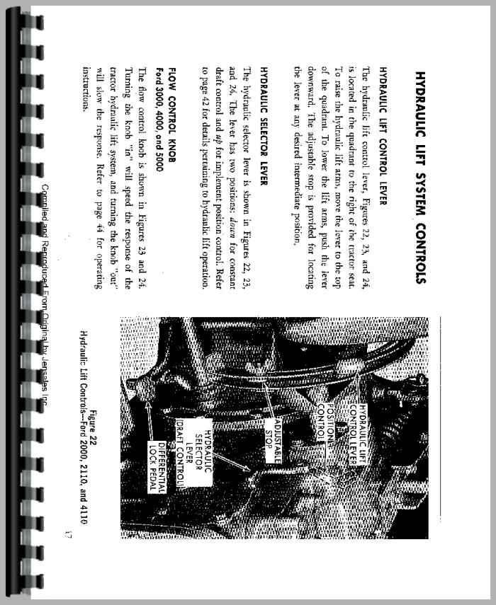 ford tractor repair manual online