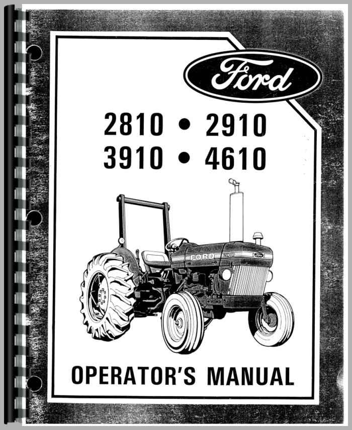 ford 2910 tractor operators manual rh agkits com manual for 2010 chevy avalanche manual for 2010 dodge caliber