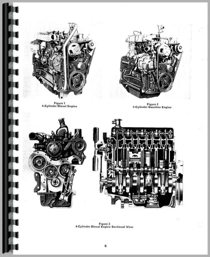 Ford 3000 Engine : Ford engine service manual