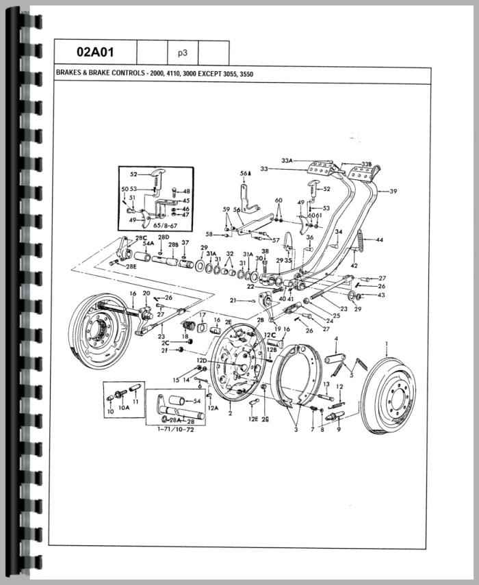 ford 3055 tractor parts manual