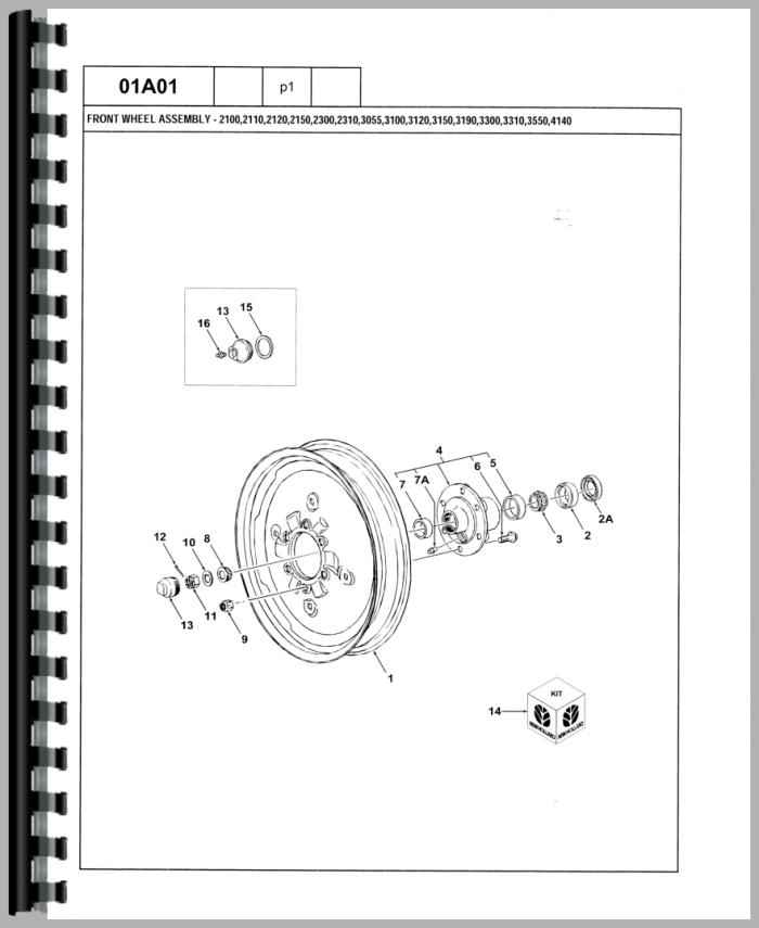 ford 3500 industrial tractor parts manual rh agkits com ford 3600 tractor wiring diagram Ford Jubilee Tractor Wiring Diagram