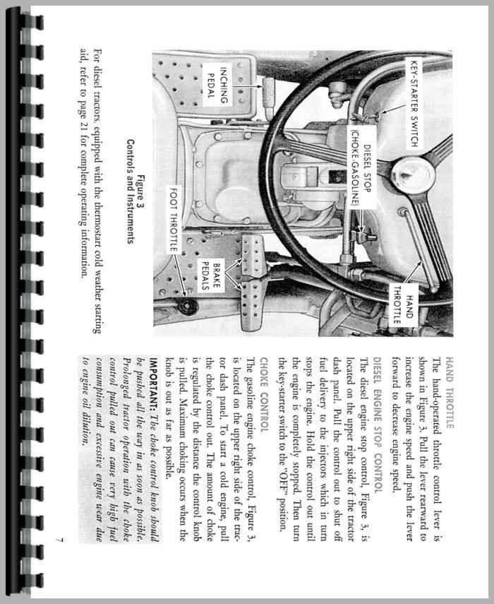 Ford 3550 Industrial Tractor Operators Manual border=