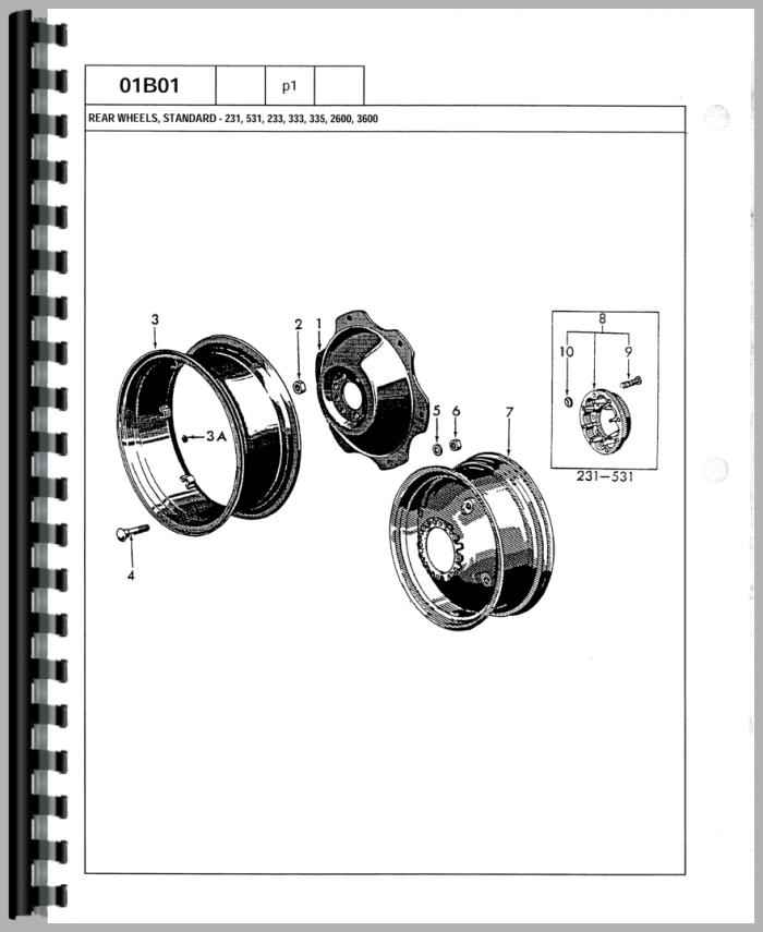 ford 3600 tractor parts manual  agkits