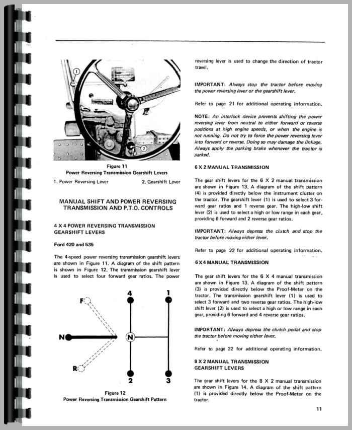 ford 420 industrial tractor operators manual rh agkits com ford 420 tractor service manual Ford 420 Industrial Backhoe Loader