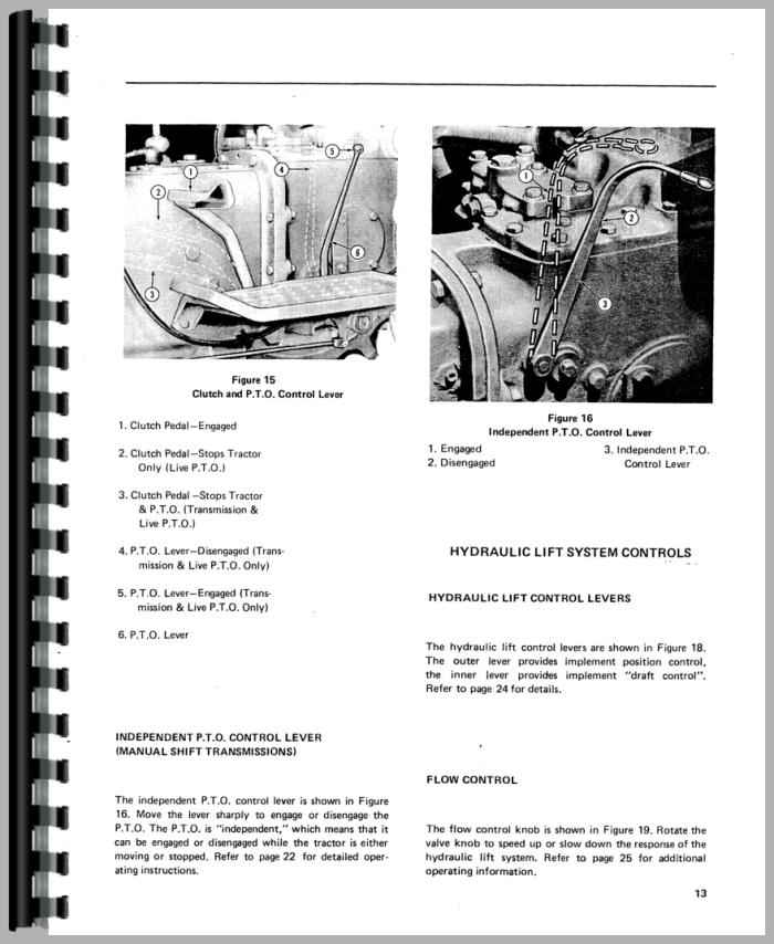 ford 420 industrial tractor operators manual rh agkits com Ford 9N Tractor Ford 420 Tractor Specs