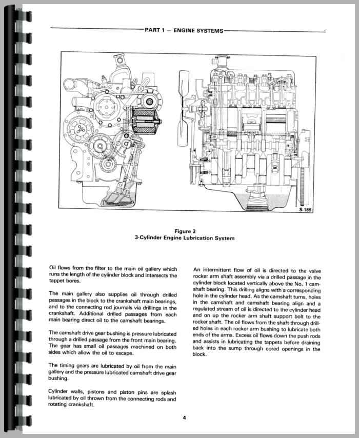 ford 420 industrial tractor service manual