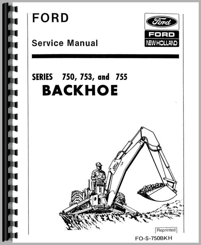ford 4500 backhoe attachment service manual rh agkits com ford 4500 backhoe service manual Ford 4500 Truck