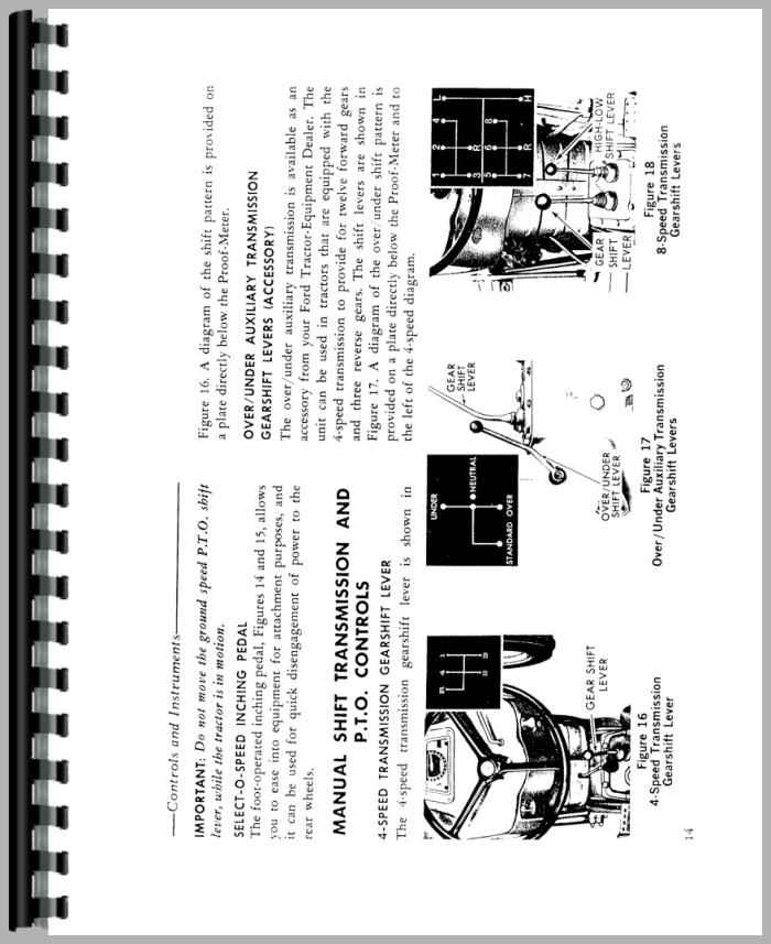 Ford 5000 Tractor Manual : Ford tractor owners manual pdf