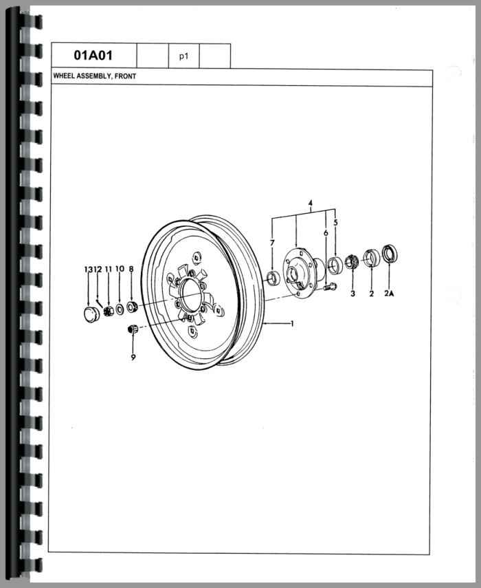 Ford 540A Ind G/&D Parts Manual
