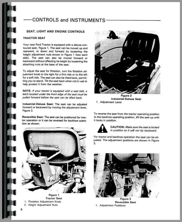 ford 545 industrial tractor operators manual rh agkits com ford tractor operators manual pdf ford 3000 tractor operator manual