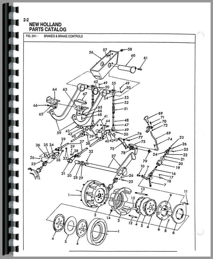 Ford 555b Industrial Tractor Parts Manual Htfo P550555